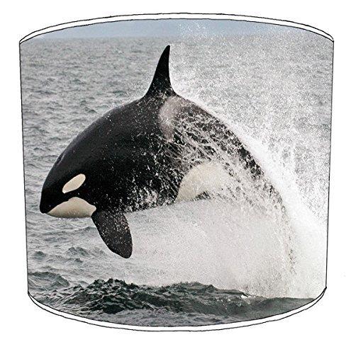 20,5cm Decke Killer Whale orca Print Lampenschirme 7 -