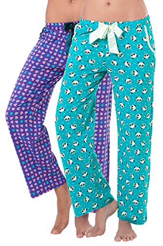 Prettysecrets Women's Cotton Pyjama Set (pack Of 2)
