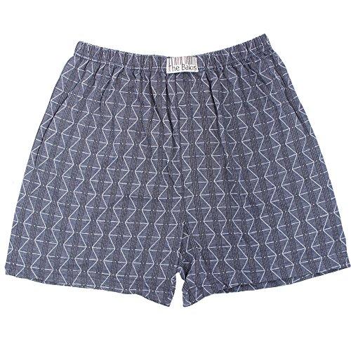 6er Pack Boxershorts Herren mit Eingriff 100% Baumwolle Farben können variieren - 3