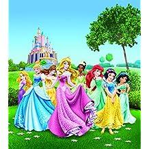 Princesas Disney - Snow White, Cinderella, Ariel And Princesses Póster Fotomural (202 x 180cm)