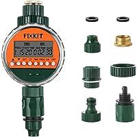 Fixkit Programmatore di Irrigazione, Timer da Irrigazione, Giardino Timer Irrigazione Automatico con LCD Display, per…