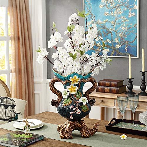 Mon5f Home Moderne Retro Keramik Vase Für Mittelstücke Wohnzimmer Weihnachten Geburtstag Hochzeit Geschenk Desktop Home Decor