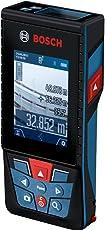 Bosch Professional Laser Entfernungsmesser GLM 120 C (App Funktion, Messbereich: 0,08 – 120 Meter, in Stofftasche)