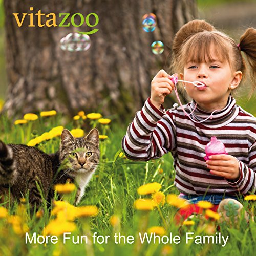 VITAZOO Premium Hundehaarbürste Hundebürste, Softbürste, Fellbürste in schwarz für Hunde und Katzen mit 2 Jahren Zufriedenheitsgarantie - 6
