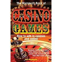 The Mammoth Book of Casino Games (Mammoth Books) (English Edition)