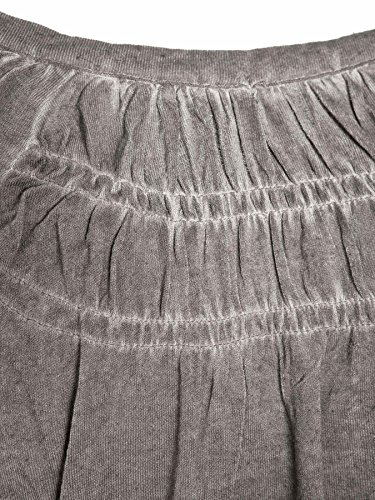 Mogul Damen Longsleeve (langarm Shirt) Wally Overdyed Mix Artikel-Nr.16410991- 2018 Dark Grey