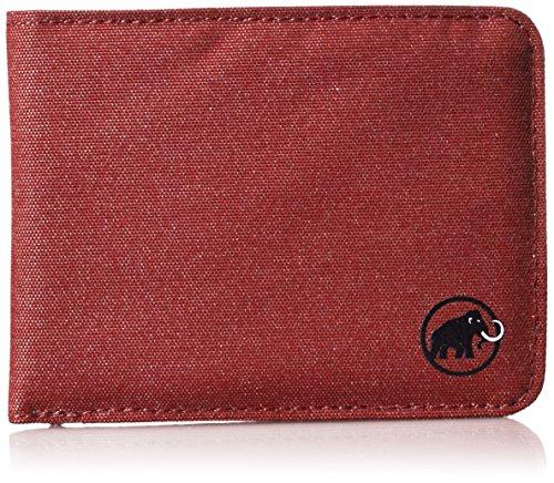Mammut Unisex-Erwachsene Flap Melange Geldbörse, Rot (Dark Lava), 5x10x15 Centimeters (Geldbörse Stoff)