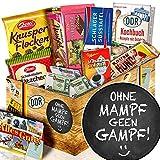 ohne mampf geen Gampf / lustige Sprüche mit Geschenk / Schokolade Ostpaket