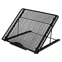 """AGPTEK-Belüftete, ayarlanabilir dizüstü ped tutucu, kaymaz/Huion A3 LED ışığı tablo/lightbox ve İzleme Işık Pad için GÖRÜNTÜ Fonksiyonlu (12 açı), \""""BİRDEN \"""""""