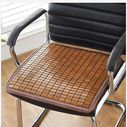 Twobee cuscino stuoia cuscino estivo traspirante sedia da ufficio auto estiva divano cuscino sgabello imbottito in bambù (color : 2(50cm*50cm))