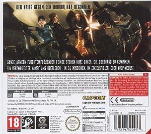 Resident Evil : The Mercenaries 3D [AT-PEGI]