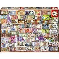 Educa Borrás - Puzzle 1000 Billetes del Mundo (17659)