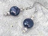 Calypso Ohrringe für Frauen, Porzellan mit Haken