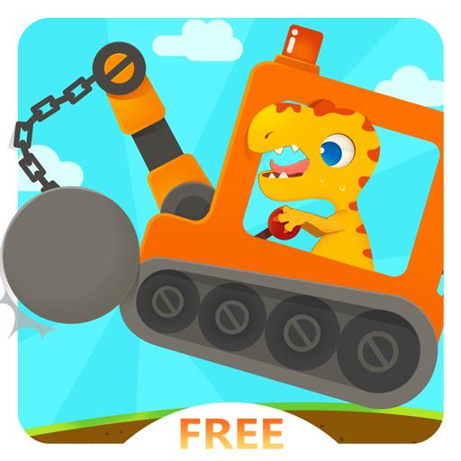 Dinosaur Digger 3 Free - Dinosaur Games for Kids