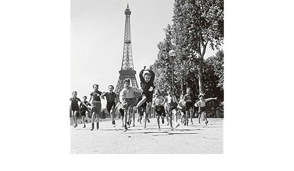 Traci ThurmanBowen Robert Doisneau Champs De Mars Gardens Photo Print Poster 12x12 12x12 Art Poster Print by Robert Doisneau
