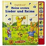 Meine ersten Lieder und Reime - Vorlese-Pappbilderbuch mit Sound - Phoenix International Publications (pikids)