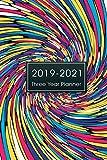 #9: 2019-2021 Three Year Planner: Monthly Schedule Organizer, 36 Months Calendar Agenda Appointment Notebook, 3 Year Planner Calendar, Appointment ... Calendar Planner Diary Journal) (Volume 1)