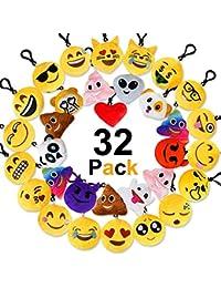 Jansroad Porte-clés emoji emoji emoji Sac et bracelet en caoutchouc