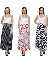 Vogue Nation Combo Of 3 Black & White Small Sun Motifs, White( With Pink And Red Print) Floral Bouquet Design...