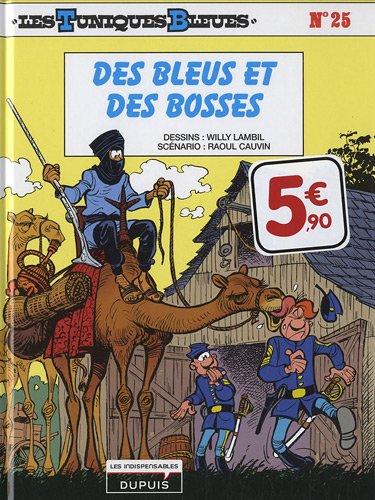 Les tuniques bleues T25 Des bleus et des bosses par Willy Lambil