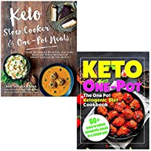 Keto slow cooker and one pot meals and keto one pot diet collection 2 books set