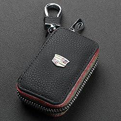 Yolife F88-010 Cadillac-auto-schlüsselanhänger, Schlüsselhülle, Mit Karabinerhaken, Idal Als Brieftasche, Für Den Kfz-schlüssel