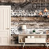 murando - Fototapete 350x256 cm - Vlies Tapete - Moderne Wanddeko - Design Tapete - Wandtapete - Wand Dekoration - Holz Bretter Holzoptik f-C-0152-a-a