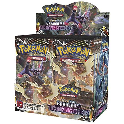Pok Pokemon Sonne und Mond Serie 6 Grauen der Lichtfinternis Display mit 36 Booster