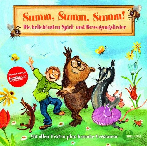 Summ, Summ, Summ - Die beliebtesten Spiel- und Bewegungslieder