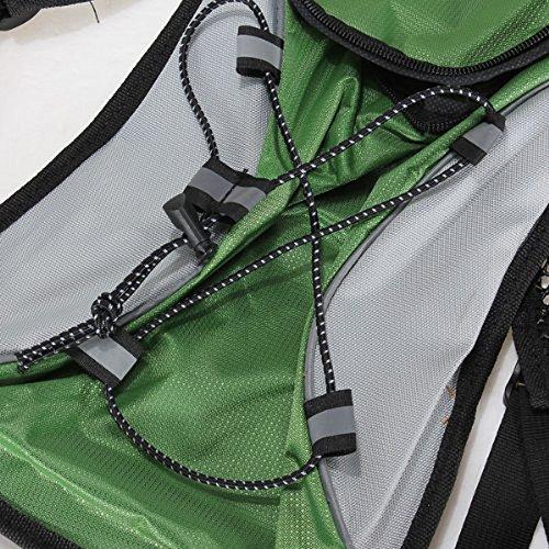 Banner Bonnie Hydration Pack Wasser Rucksack Radfahren Blase Tasche Radfahren/Wandern/Klettern Beutel grün - grün