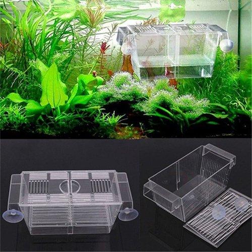 Jiacheng29 Guppy Doppelzuchtkasten für Aquarien