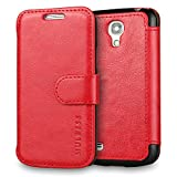 Coque Galaxy S4 mini,Mulbess [Credit Card Slot Vintage Series] Housse Etui...