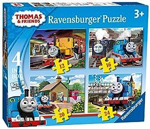 Thomas & Friends Paquete de 4 puzzles, en una caja (Ravensburger 07070 1)