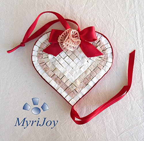 idea-regalo-original-corazon-rojo-mosaico-diy-kit-15x15-cm-baldosas-de-marmol-de-marmol-de-color-sel