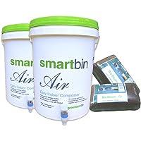 GreenTech Life Smart Bin Air/ Compost Bin Set - (20L X2)