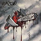 Razor: Violent Restitution (Transparent Ultra Clear Grey [Vinyl LP] (Vinyl)