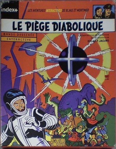 E.P. Jacobs - Blake et Mortimer - Le Piège diabolique - BD interactive (deuxième édition)