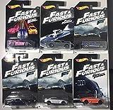 Conjunto Completo 6 Modelos Coche Cars DieCast Fast & Furious 1/64 6cm...