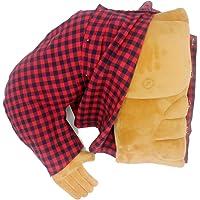 Coussin Boyfriend Petit ami câlin oreiller mari câlin oreiller bras corps coussin rouge chemise à carreaux avec de vrais…
