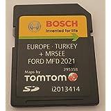 SD-kaart GPS Ford MFD V11 Europa 2021