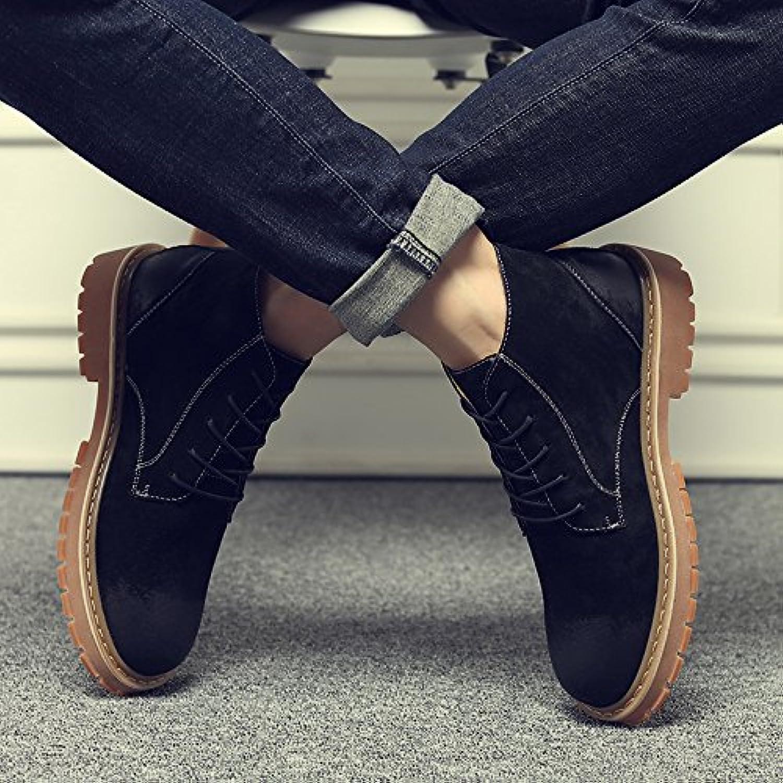 HL-PYL-Uomini stivali, scarpe di pelle, sandali, sandali, grande testa scarpe, ma Dingxue,39,Nero | Prezzo basso  | Uomo/Donna Scarpa