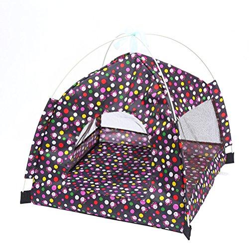 Ueetek cuccia casa letto per cane tenda per animali cani gatto