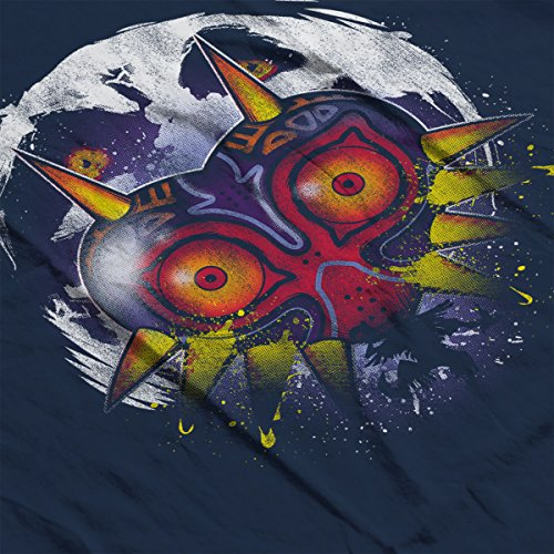 Zelda Power Behind The Mask Men's Vest Navy Blue