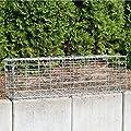 Gabionen verschiedene Größen wählbar + kostenloser Versand // Steingabionen Steinkorb Gabionen Wand Rundgabione, Gabionenwand, Drahtkorb Mauer Säule Säulen 5x10 von 512469 auf Du und dein Garten