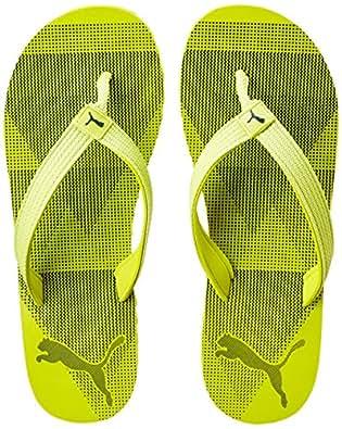 Puma Unisex Insta IDP Nrgy Yellow-Blue Depths Flip Flops Thong Sandals - 7 UK/India (40.5 EU)