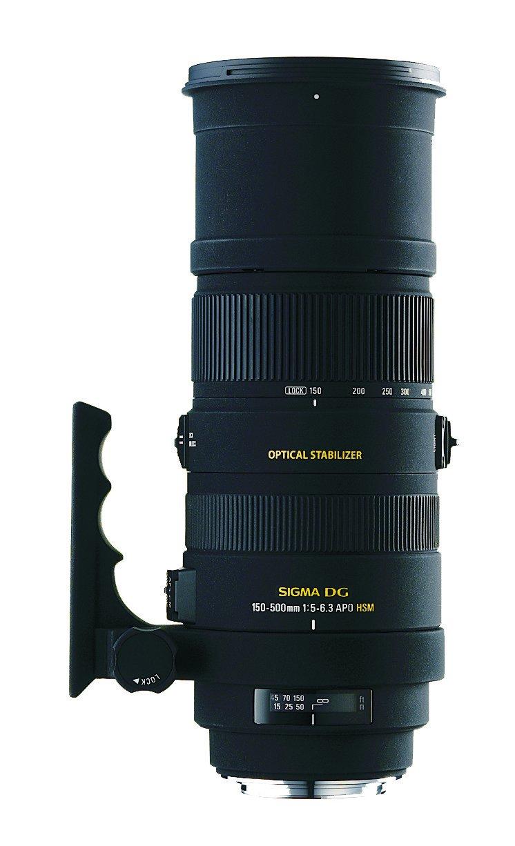Sigma Obiettivo 150-500mm-F/5-6.3-AF APO DG OS HSM ,Attacco NIKON