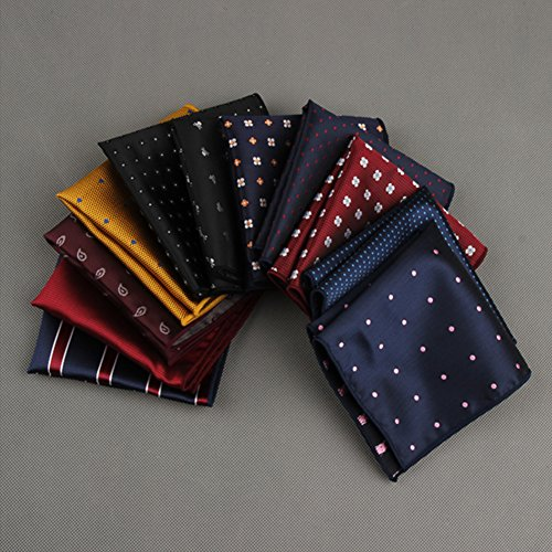 Sitong hommes costumes en soie polyester poche mouchoir monsieur DSFJ_026
