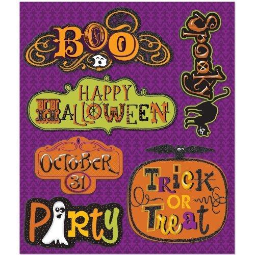 K&Company Halloween Words Sticker Medley by EKS