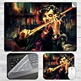 Shelock Holmes Artistic Laptop Skin + Mo...