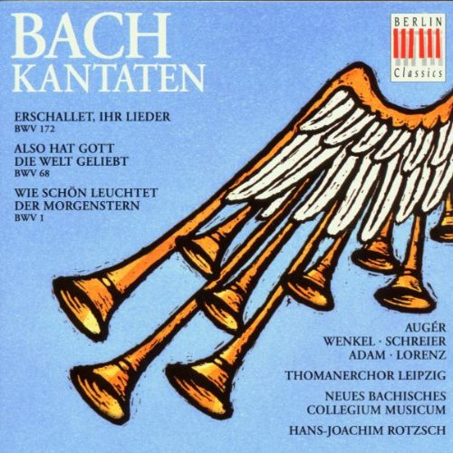 Cantates BWV 1, 68, & 172 [Import allemand]
